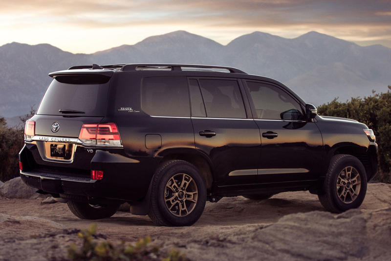 toyota 2020 land cruiser heritage edition suv car debut chicago auto show summer 2019 june july august release price info specs review first look