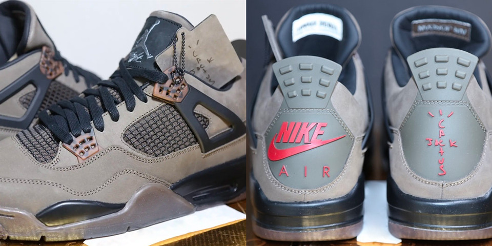best loved 16011 dca14 Travis Scott x Air Jordan 4