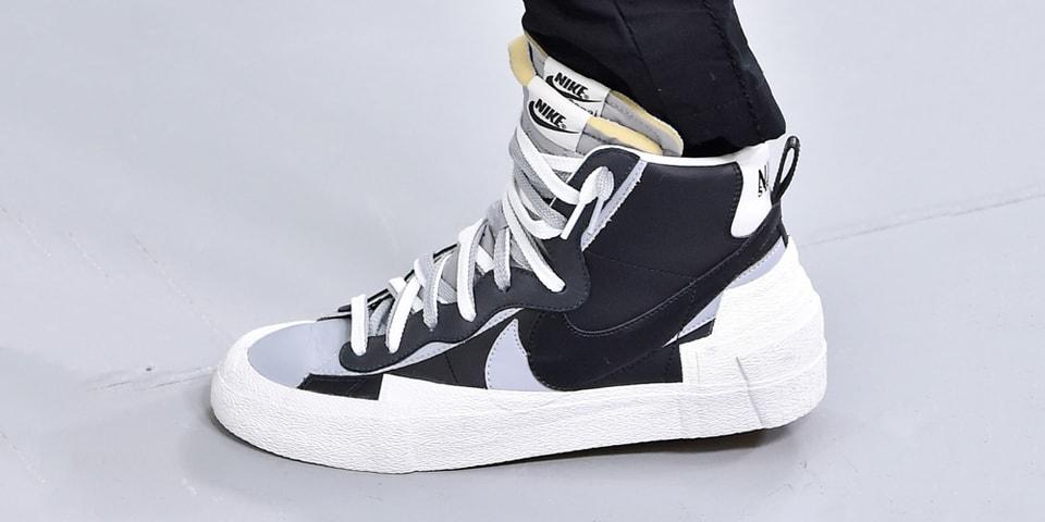 sacai Debuts New Nike Sneakers During FW19 Paris Runway Show