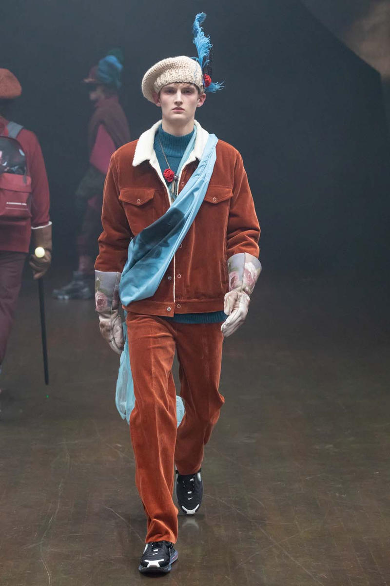 UNDERCOVER Fall Winter 2019 Collection Runway paris fashion week mens jun takahashi clockwork orange droogs nike collaboration valentino