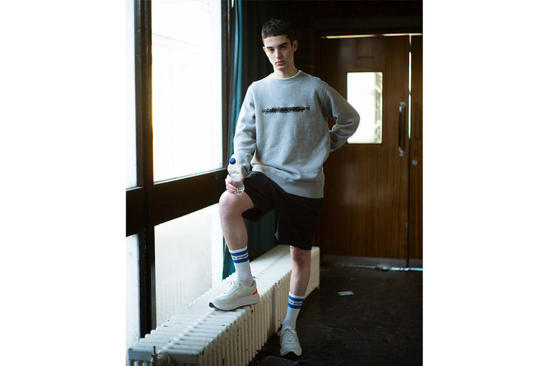 uniform experiment Spring/Summer 2019 Lookbook collection Japanese streetwear bomber suit graphic crewneck t-shirt tee trousers shorts