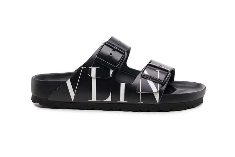 Birkenstock x Valentino Arizona Sandal release paris fashion week 2019