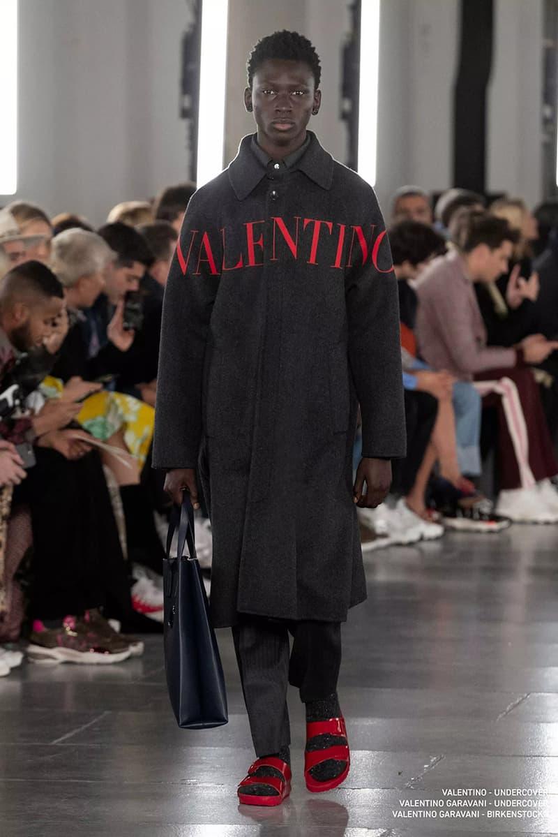 Valentino FW19 fall winter 2019 Runway Collection UNDERCOVER collaboration release date info menswear paris fashion week pierpaolo piccioli