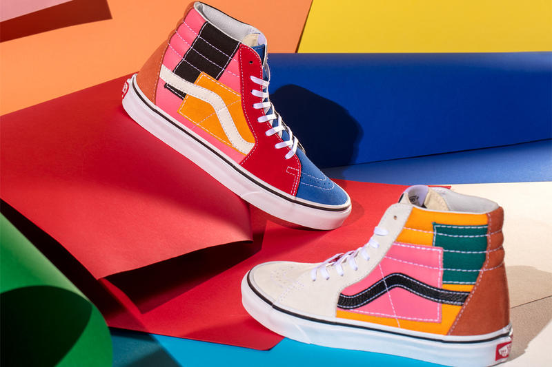 vans classics patchwork pack 2019 january classic slip on era sk8 hi footwear