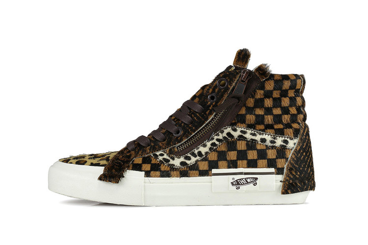 5c655e4fa1 Vans Patches Iconic Sk8-Hi With Different Animal Fur