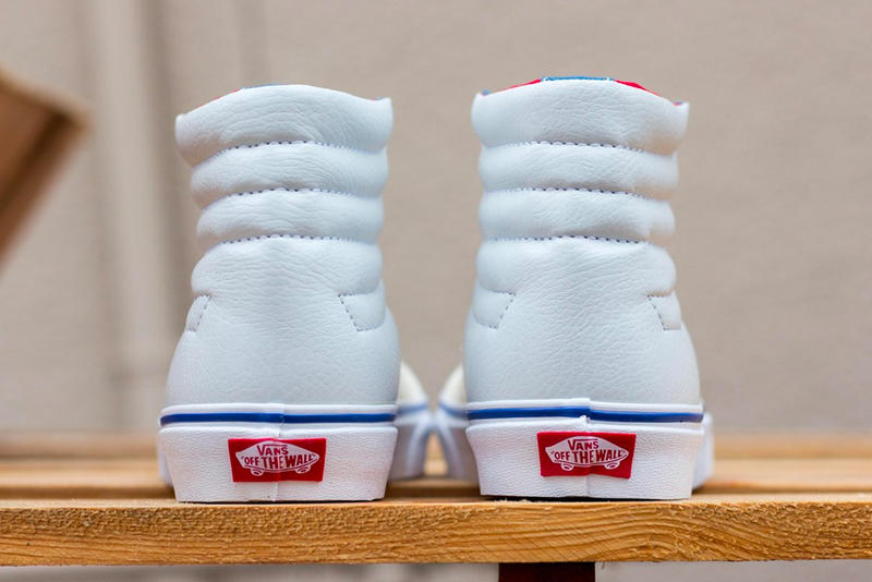 Vans Sk8 Hi Inside Out Release Info Date white sail red blue
