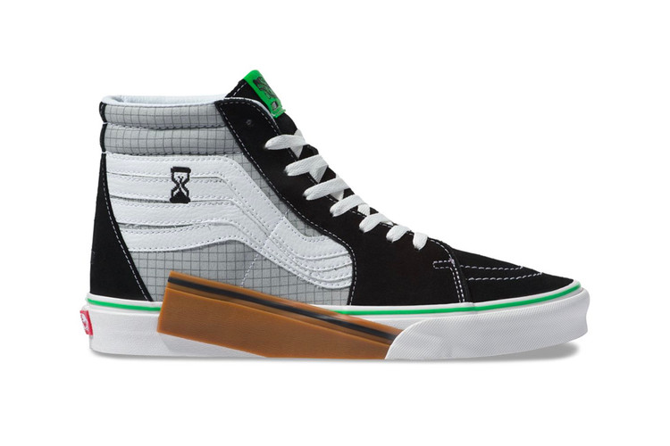 f298032225b743 The Vans VANSCII Sk8-Hi Is a Jazz Stripe Overload