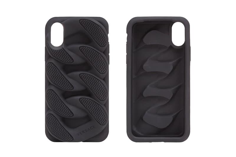 Versace Chain Reaction Sole Unit iphone Case apple black release info