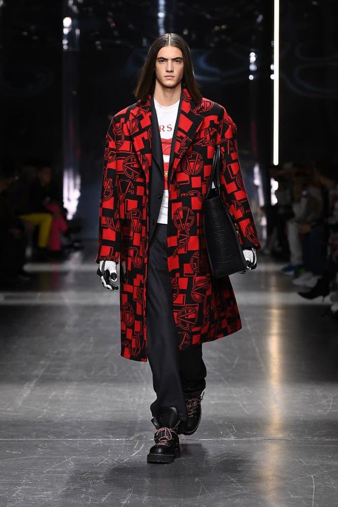 Versace Fall Winter 2019 Milan Runway Collection fashion week menswear donatella ford
