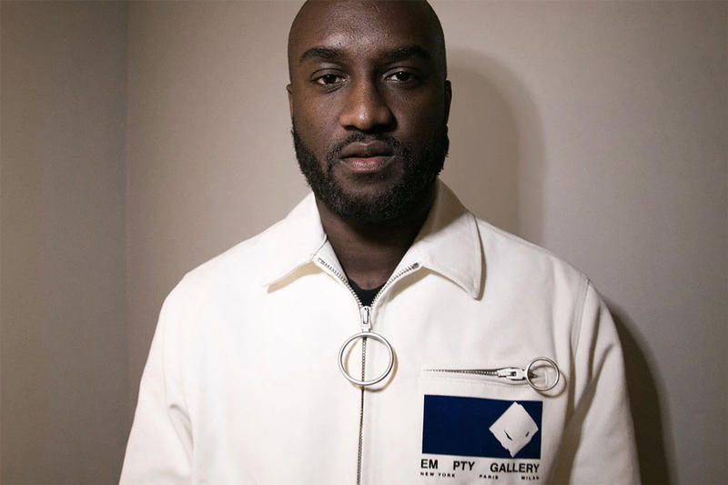 virgil abloh off white modern office mr porter collaboration exclusive collection interview quote creative director louis vuitton