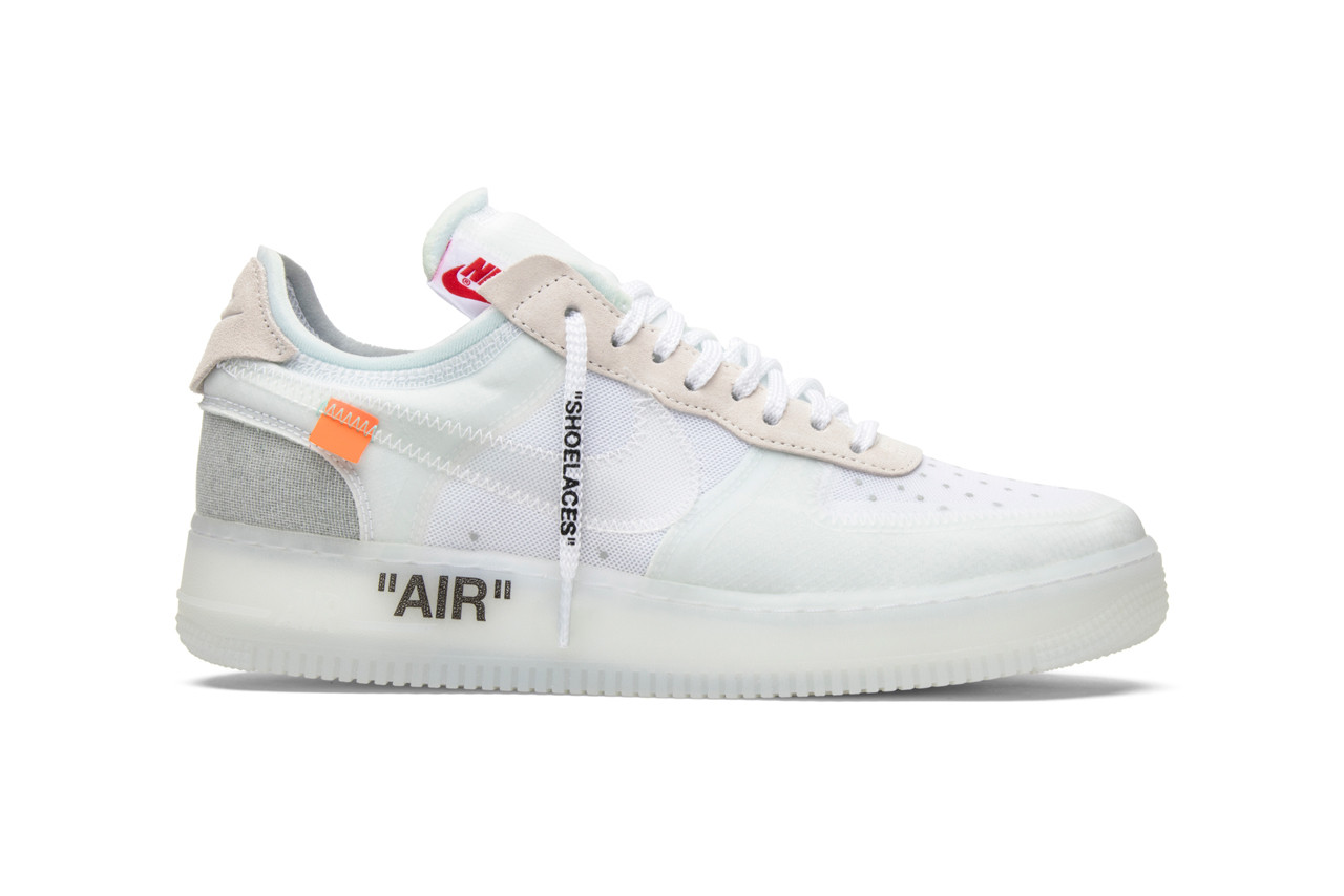80abb31f4b60 GOAT Looks Back at Off-White s Nike Collabs virgil abloh ten sneakers  basketball running sports