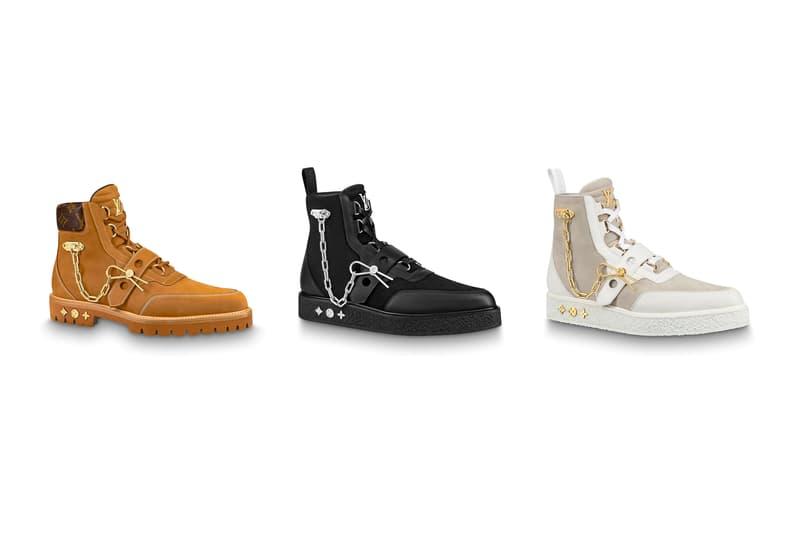 e37b49264f Virgil Abloh Spring Summer 2019 Louis Vuitton Collection Available Online  bag shoe sneaker boot belt sweater