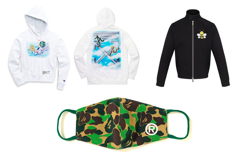 Weekly Drops January Week Three Spring Summer 2019 ASAP Mob ABC Face Mask Rage Bape The north Face Doublet Dior KAWS Virgil Abloh off white Yams Day cactus plant flea market lybb disco inferno PaperBoy Paris beams needles Kith mastermind WORLD Vans