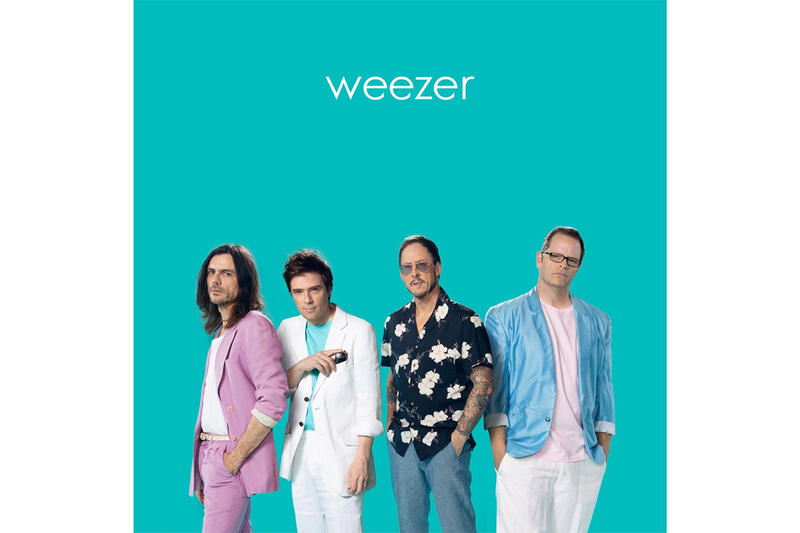 WEEZER 'The Teal Album' Stream Music Watch Listen Spotify Apple Music Streaming Services Toto Africa Michael Jackson Billie Jean No Scrubs TLC