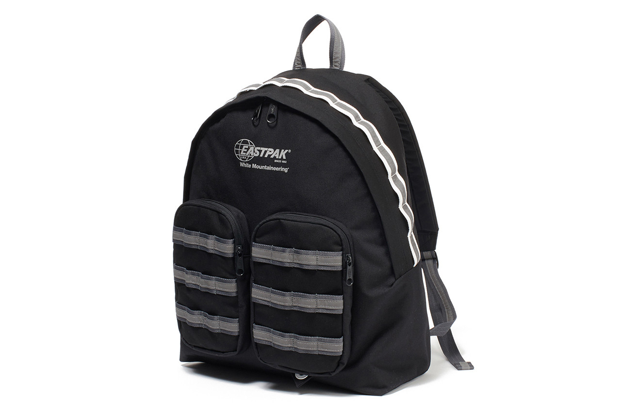 White Mountaineering Eastpak Spring Summer 2019 collaboration bag backpack duffel tote hiking release date info january 19 26 2019 buy