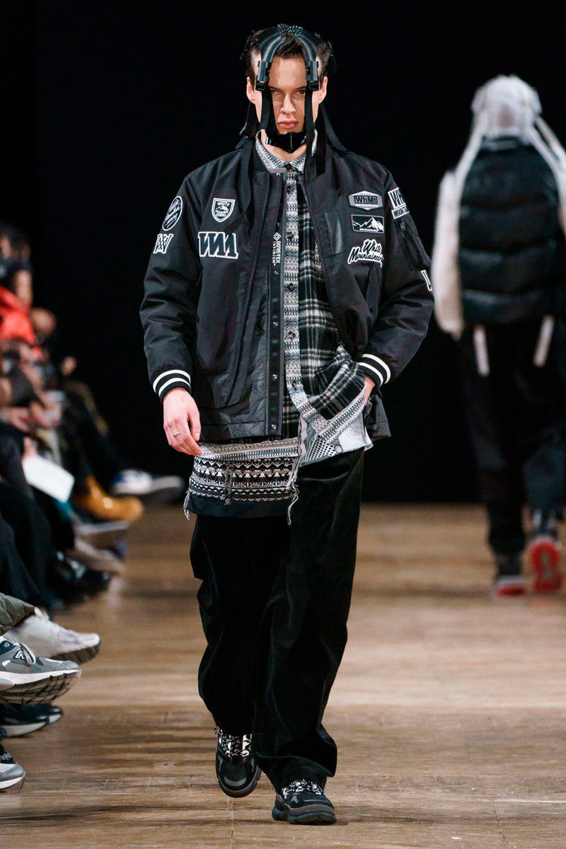 White Mountaineering Fall/Winter 2019 Collection runway lookbooks paris fashion week Danner adidas originals Eastpak