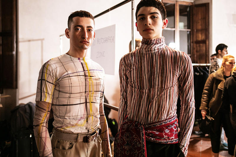 Y/Project Fall/Winter 2019 Backstage Pitti Uomo Glenn Martens Autumn/Winter 2019 Pitti 95 Florence