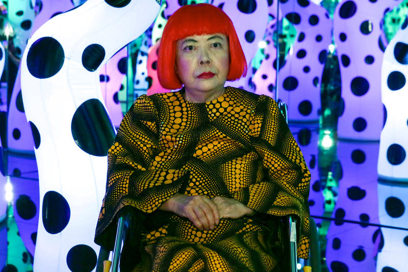 Yayoi Kusama Infinite Mirror Room Installation Becomes Part of ICA Boston Collection images art exhibition Japanese info love is calling polka dots institute of contemporary arts
