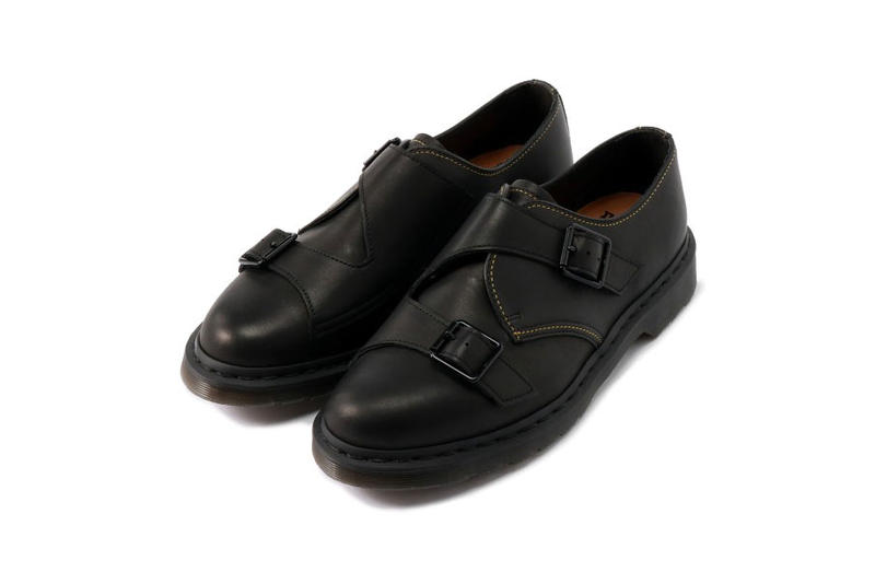 9263265d44326 Yohji Yamamoto Dr. Martens Double Monk Strap derby footwear shoe  collaboration spring summer 2019 release