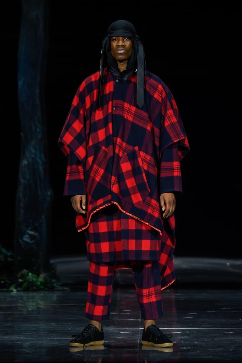 Yoshio Kubo FW19 Collection Paris Fashion Week
