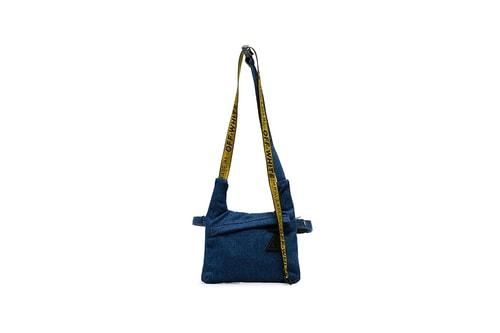 Off-White™ Introduces an Industrial Belt Denim Messenger Bag