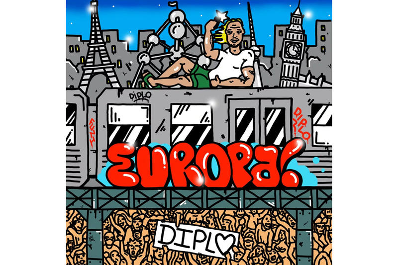 Diplo Drops Europa EP Stream Info music dj producer octavian niska bizzey ramiks bausa soolking IAMDDB