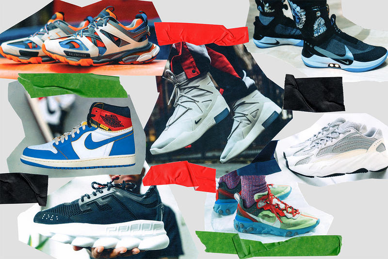 2019 sneaker forecast virgil abloh louis vuitton off white jerry lorenzo fear of god nike air fear of god 1 kanye west adidas yeezy jordan brand reebok puma clyde court aleali may rox brown serena williams footwear sneakers russell westbrook lebron james kith ronnie fieg 1017 alyx 9sm balenciaga versace undefeated bape