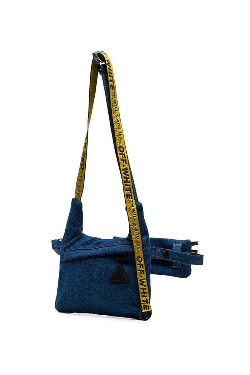 5a6cf365884eb Off-White™ Denim Messenger Bag Release Info | HYPEBEAST