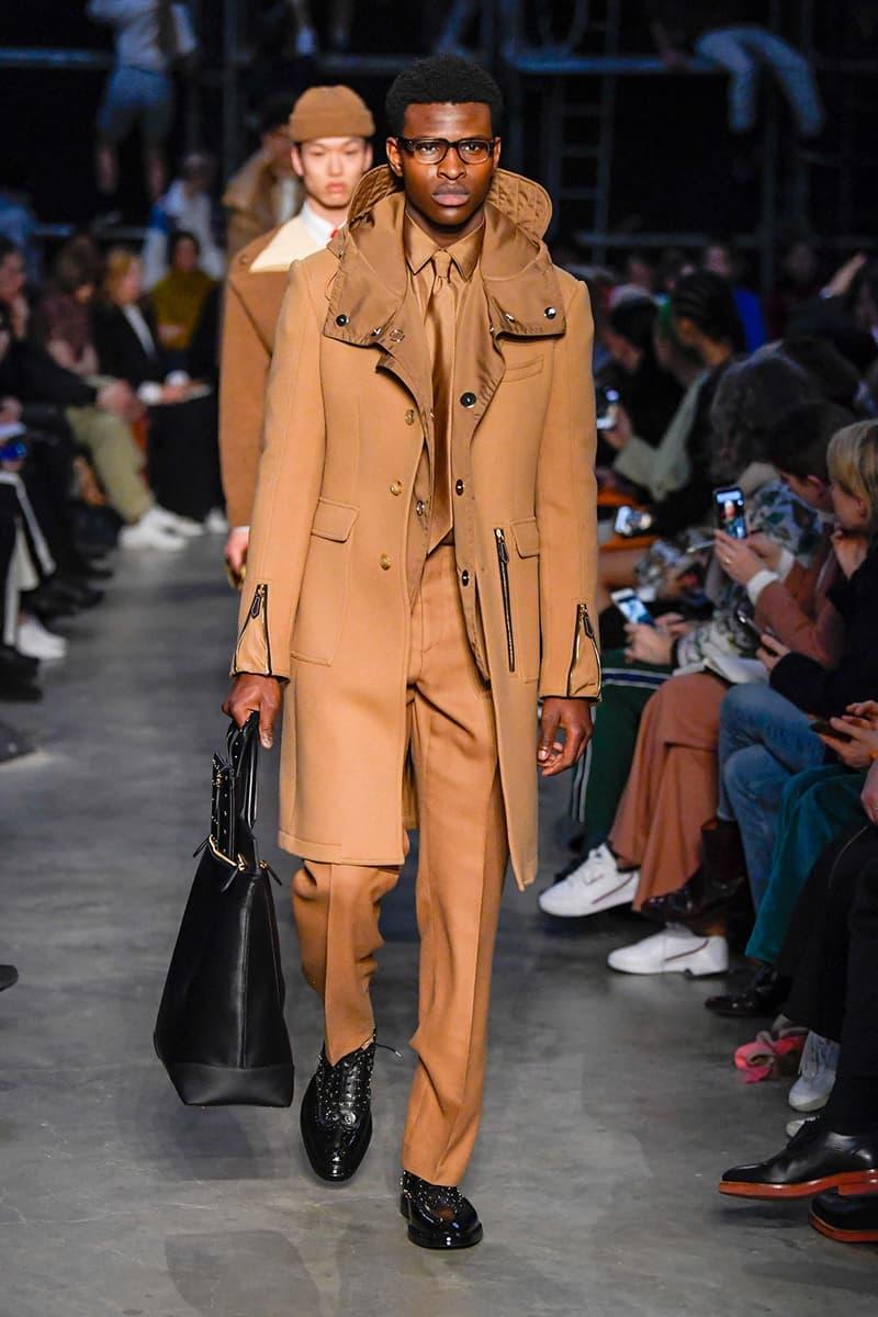 Burberry Fall/Winter 2019 London Fashion Week LFW Riccardo Tisci