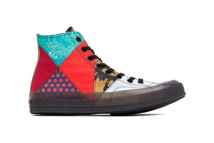 ab90d3168fe2 Converse Chuck Taylor All Star 70s. Converse Chuck 70 Gets Eclectic New  Patchwork Design