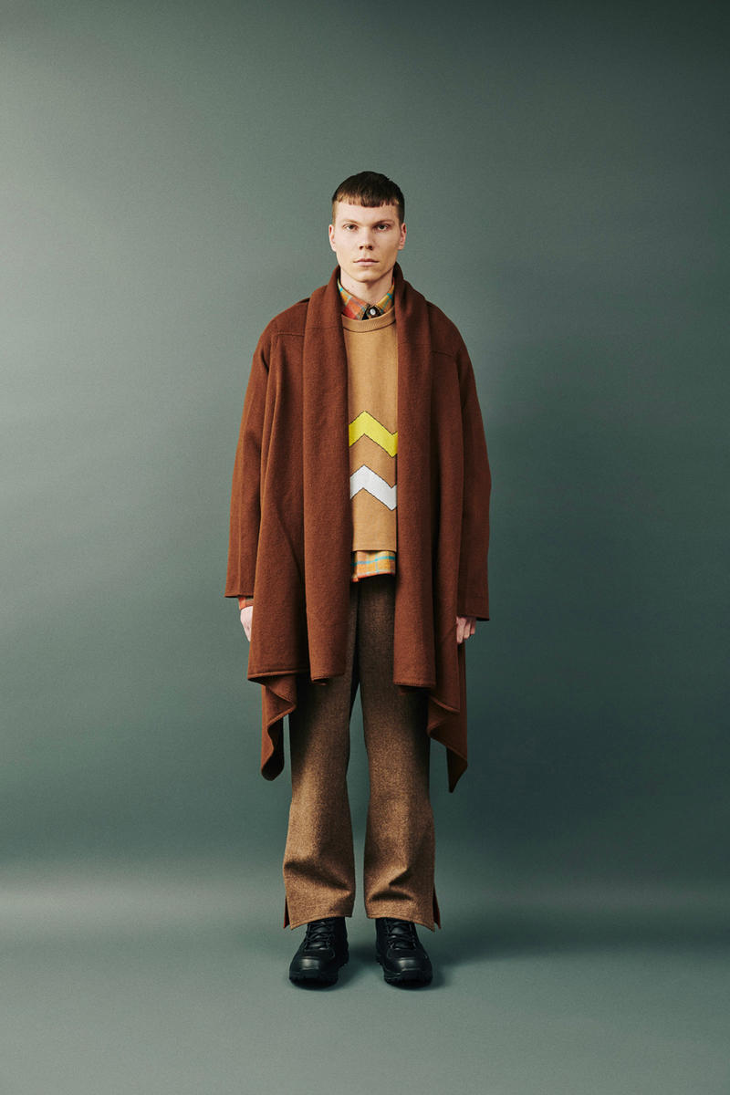 Digawel Fall Winter 2019 Lookbook Collection fw19 japan