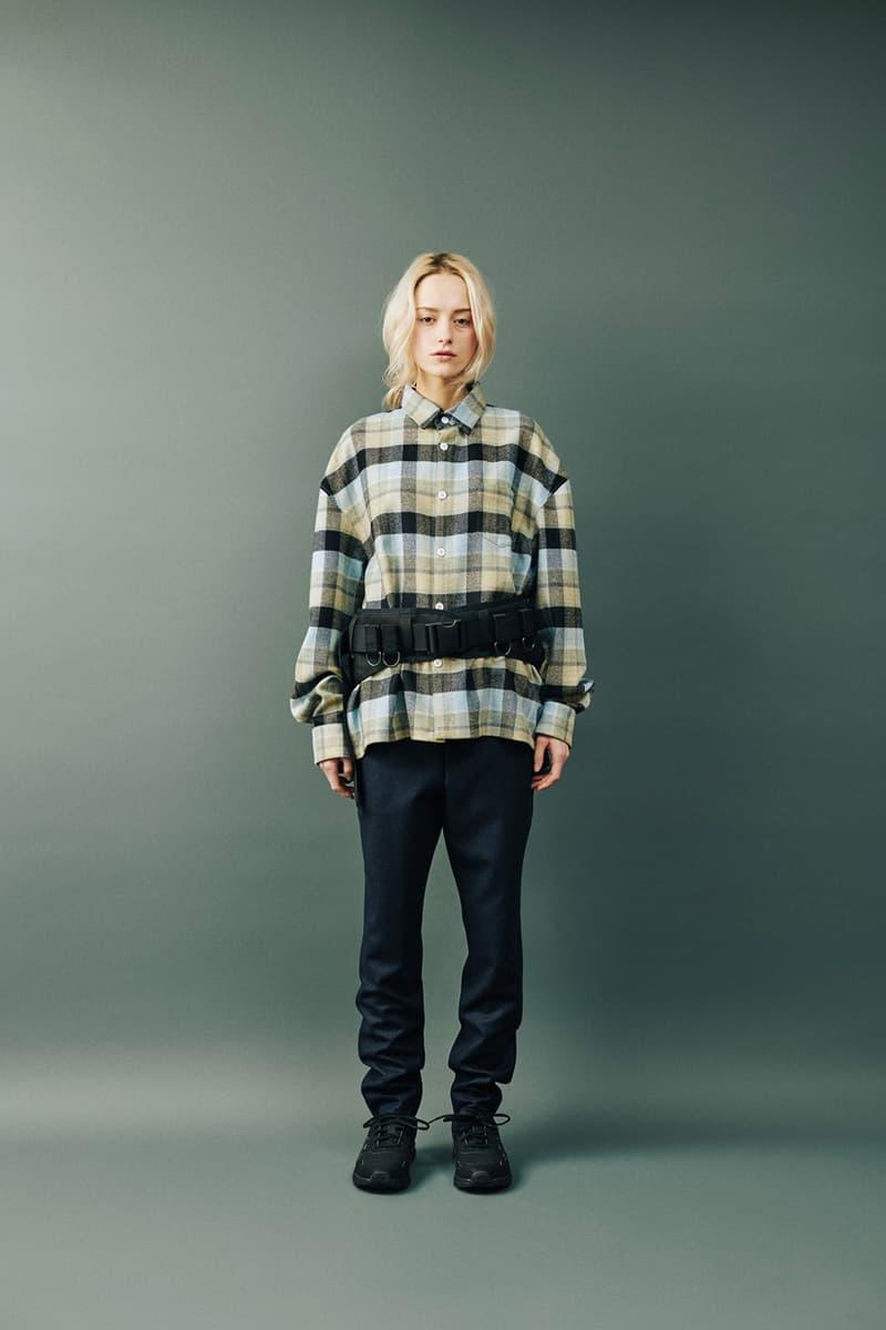Digawel Fall Winter 2019 Lookbook Collection fw19 japan
