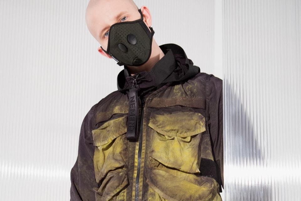 NemeN Utilizes Acid Dyeing for SS19's Well-Worn Utilitarian Look