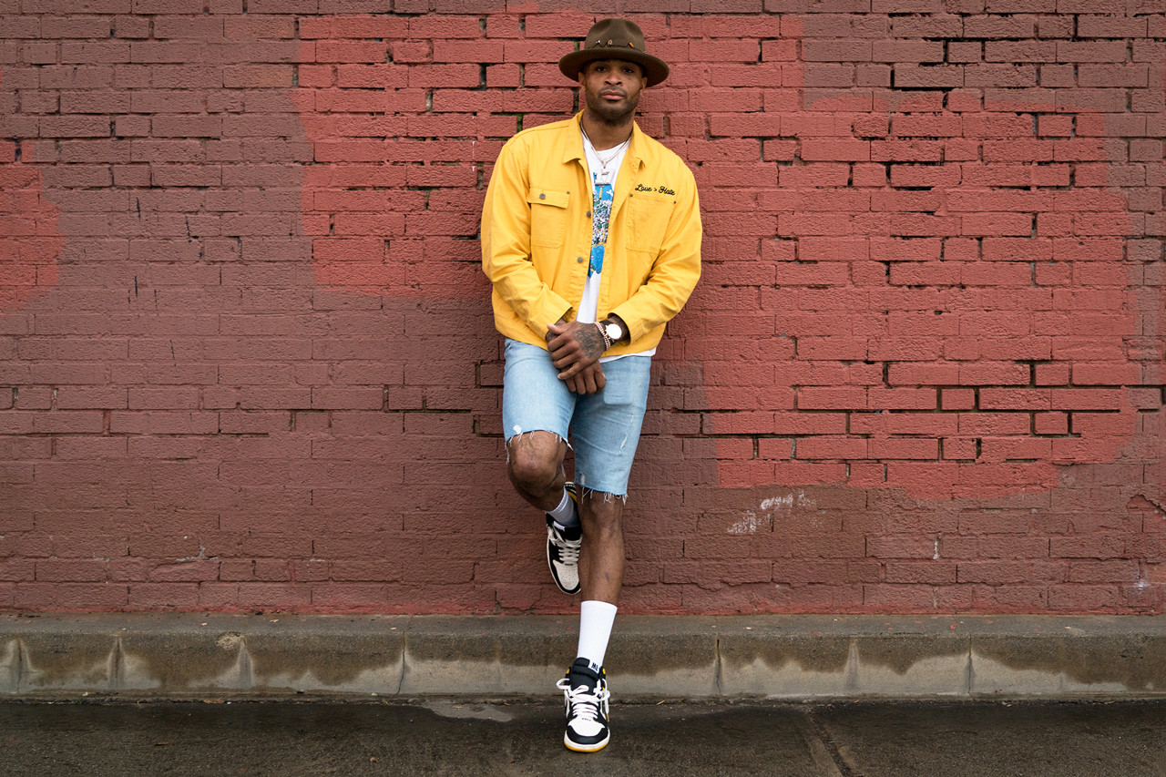 PJ Tucker Streetsnaps Style Interview Feature houston rockets nick fouqet nba basketball nike sneakers collection air jordan 1 not for resale