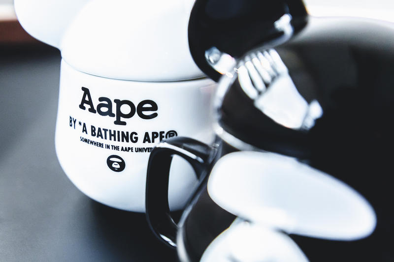 AAPE x Baby Milo Store x Medicom Toy BE@RMUGS a bathing ape BAPE release drop info pricing stockist somewhere in the aape universe