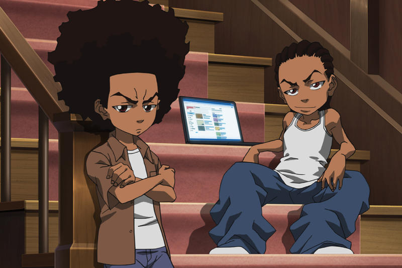 Image result for The Boondocks Gets Reboot Series Set for HBO Max