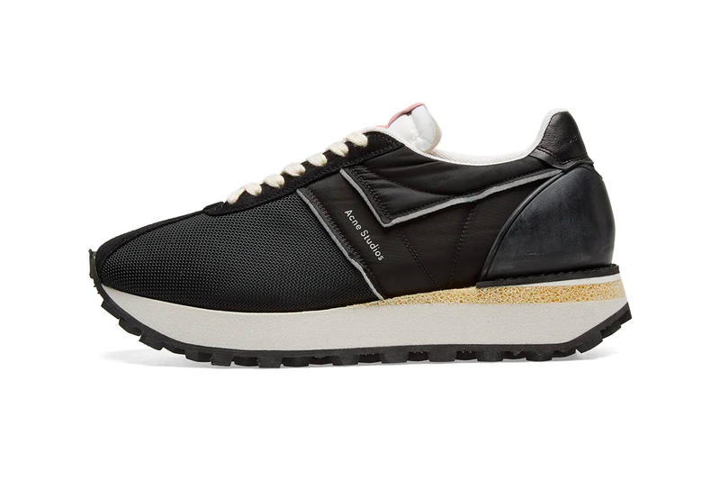 Acne Studios Barric Deconstructed Sneaker Info fashion shoe dad shoe sneakers