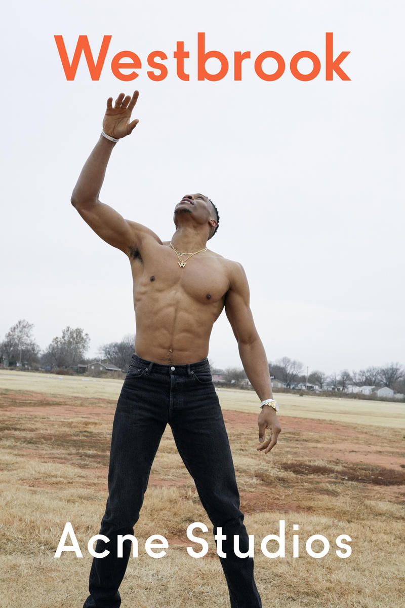 Acne Studios russell westbrook spring summer 2019 campaign images