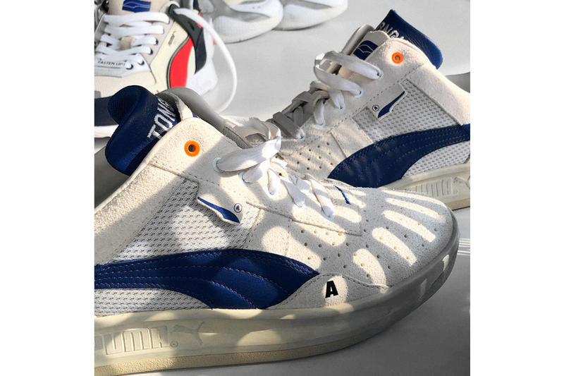 ADER ERROR x PUMA Collection teaser korea og  running cali rs system grey red yellow white german double tongue 3m material RS-100 Cell Venom Basket Platform