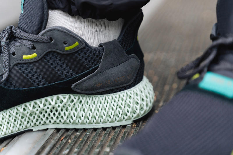new arrival 0eb51 8eae1 adidas Consortium ZX4000 4D Carbon First Look 3D printed black Release info  date