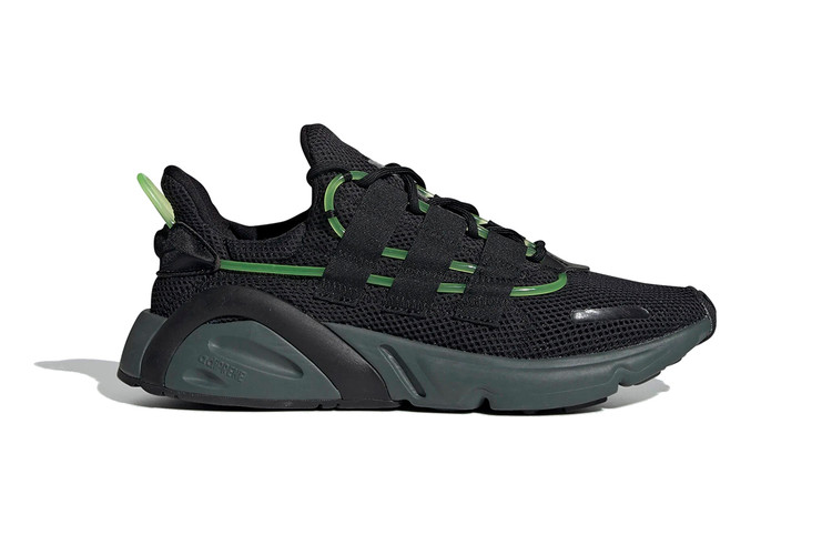 adidas Originals LXCON Gets Dipped in Black With Touches of Green 09366c08c