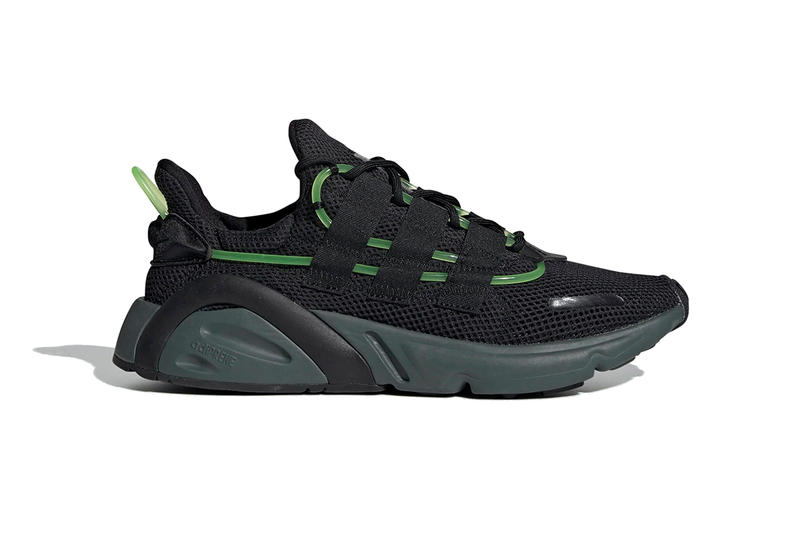 adidas originals lxcon core black green 2019 march footwear EF9678