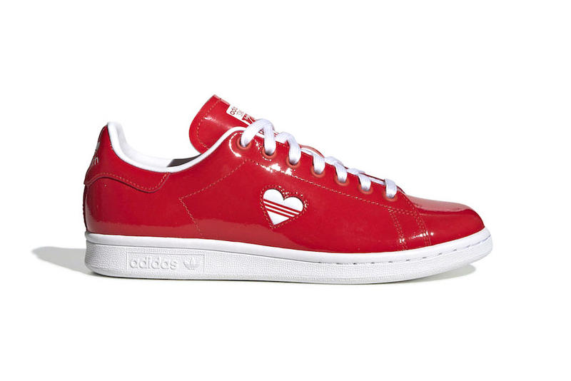 adidas Stan Smith Valentines Day Active Red Cloud White Release Info Date