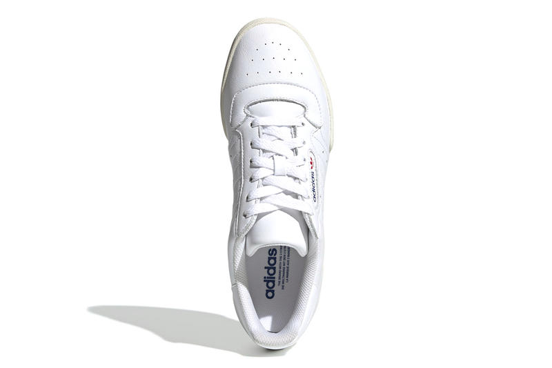adidas Powerphase Release Cloud White Ecru Tint Kanye West 80s tennis shoe