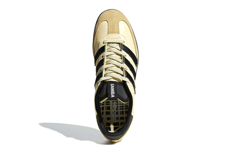 Adidas Samba OG Easy Yellow Core Black Colorway sneakers shoes
