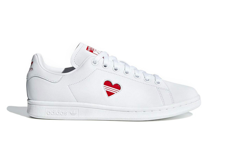 10180c7ce51f adidas Continues to Celebrate Valentine s Day With a Reworked Stan Smith