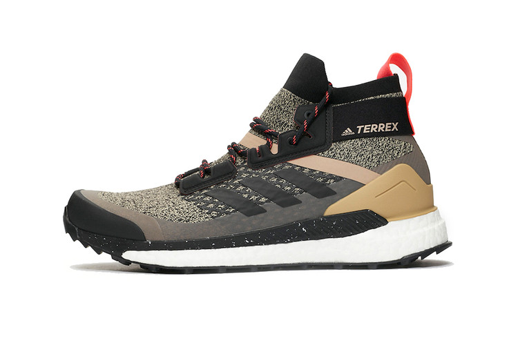 adidas Terrex Free Hiker Is Trail-Ready in New Earthy Colorway 8077d6e00ba54