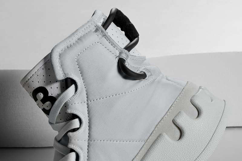 adidas Y-3 KASABARU Trimm Trab 70s basketball shoes inspired three stripes Spring/Summer 2019 SS19