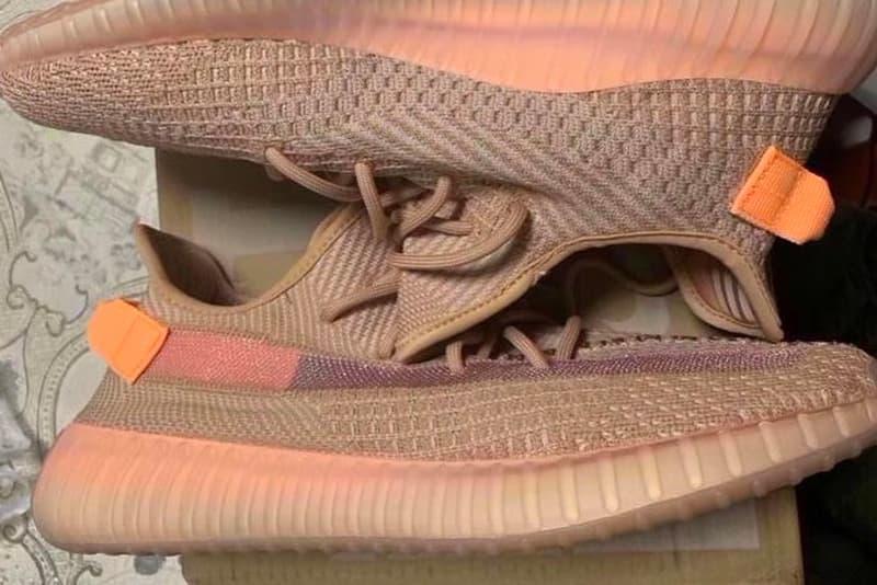 "adidas YEEZY BOOST 350 V2 ""Clay"" First Look adidas originals three stripes kanye west germany"