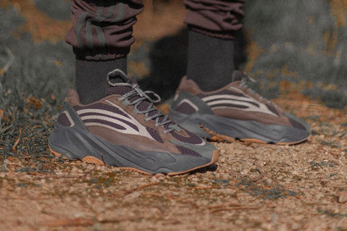 """The adidas YEEZY BOOST 700 V2 """"Geode"""" Gets an On-Foot Look & Release Date"""